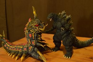 S.H Monsterarts Battra Larva (9/?) by GIGAN05