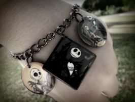 The Nightmare Before Christmas bracelet by Amaya6695