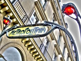 Metropolitain by AuroraxCore