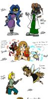 My Rayman OCs by ClaraKnight