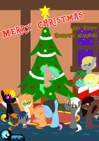 Merry Christmas and Happy Hearth's Warming! by AZ-Derped-Unicorn
