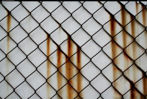 rust fence texture 2 by enframed