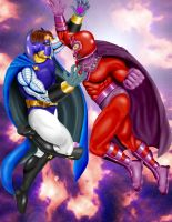 Dr.Polaris vs. Magneto by Force95B