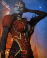 Mass Effect 2 Samara by snp19
