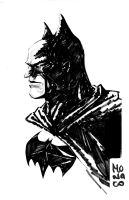 Batman sketch by MeloMonaco