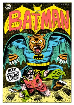 Covered - Batman 209 by Teagle