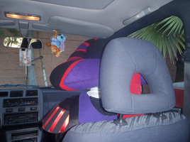 Frollo sits in the car by ChristineFrollophile