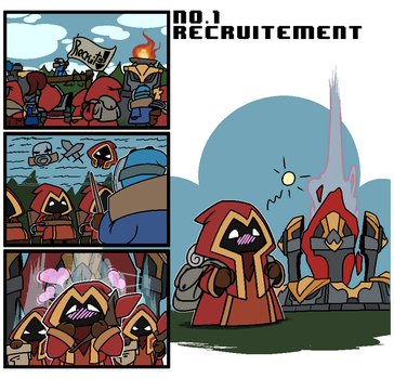 No.1 recruitement by Wrriter