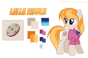 Lalla Riddle - Reference by Sonnatora