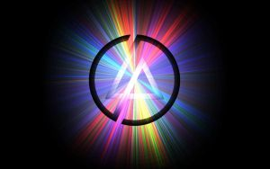 Linkin Park Logo Background by AMPgraphicart