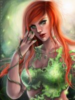 Poison Ivy by meganparkes