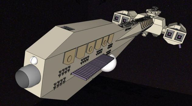 Leviathan Class  Capitol Ship by mastergearhead