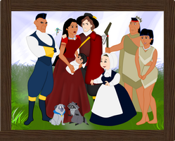 Pocahontas' Family / The Rolfe's by RamiJ5