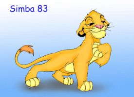 Just Simba color by Simba83