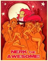Nerk the Awesome by StressedJenny