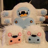 Four-Armed Yeti and Yeti Babies by loveandasandwich