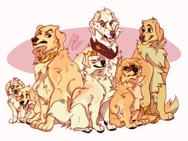 One Big Unhappy Family by alridpath