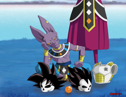 Beerus the destroyer by Brinx-dragonball