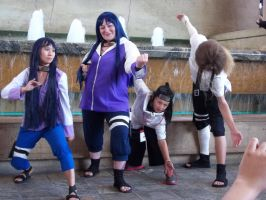 Naruto Gathering (Saturday) Hyuuga Clan by TemariAtaje