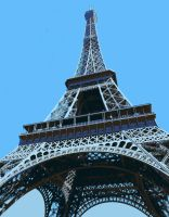 Eiffel Tower Paint By Number Art Kit by numberedart