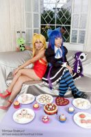 Panty and Stocking 01 by Hitomi-Cosplay