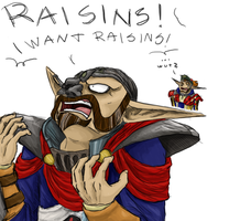 Raisins by Jakiron