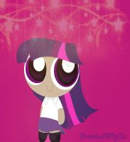Twilight Sparkle powerpuff remake by PreciousKittyXx