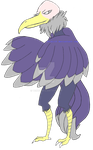 Rame the Silver-Winged Vulture by Tsiki10