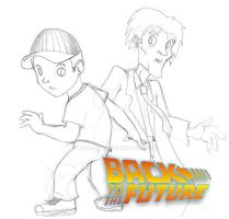 back to the future by joaobw