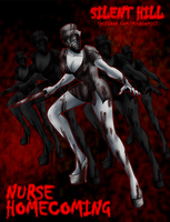 Silent Hill Nurse by mikaeriksenweiseth