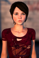 Ellie Morph WIP. by Erah3D