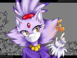Blaze the Cat by JuliaTheDragonCat