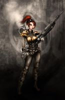 Steampunk Kerrigan by faedri