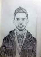 Mike Shinoda from Linkin Park by ZephyrosSkyress