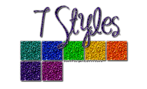 7 Styles Glitter by DontForgetEdiitions