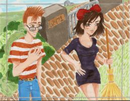 Kiki and Tombo - Grown Up by damselle-xo
