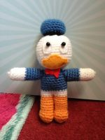 Crochet Donald Duck by tails267209