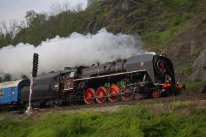 Steam locomotive 475.179 #4 by DusanPavlicek