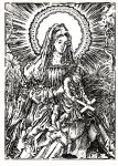 Madonna of Christ of the Cross by gromyko