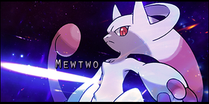 Mewtwo Awakened Forme by LVAchromatic