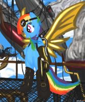 Steampunk Rainbow Dash by Groovebird