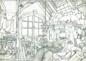 Enchanted Kitchen by NLuty