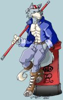 Billy Kane furry by ElectricDawgy