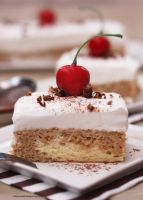 Tres Leches Espresso Cake by theresahelmer
