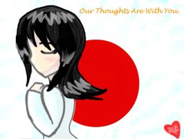 Our Thoughts Are With You. by HirokoTheHedgehog