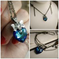 Demi Necklace by JuleeMClark