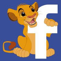 Simba Facebook Icon by Sanaakota
