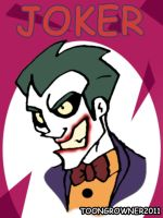 Scetch Joker Face by toongrowner