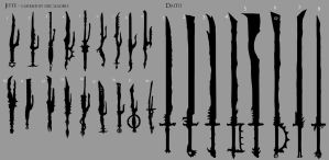 Samurai Orc Weapons 1 by mythrilgolem1