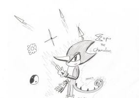 Espio the Chameleon by Erazor91